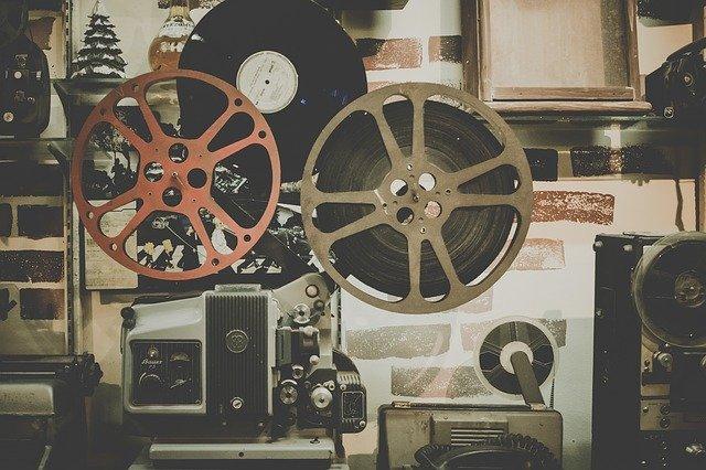 projektor v kině